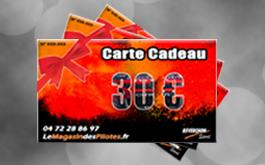 Le magasin des pilotes : carte cadeau 30€